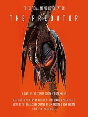 The predator . Christopher Golden.