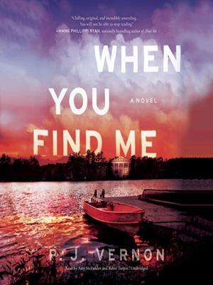 When you find me . P. J Vernon.