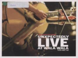 Unxpectedly live at Wala Wala, 13th Dec '03