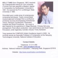 Kelly Tang : works. Vol. 2