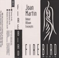 Joan Martin : debut album excerpts