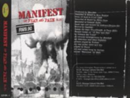 Manifest of fear and pain