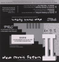 New music forum II : a concert featuring works of Singapore composers