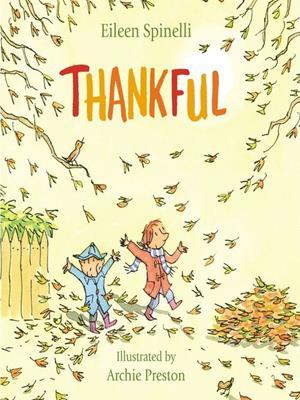 Thankful . Eileen Spinelli.