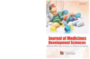 Journal of medicines development sciences, v. 1, issue 1 (Jun. 2015)