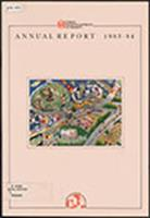 Annual report 1983/1984 (Urban Redevelopment Authority (Singapore))